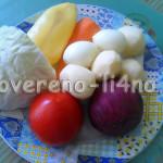 Рецепт борща со свежей капустой