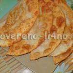 Чебуреки рецепт приготовления