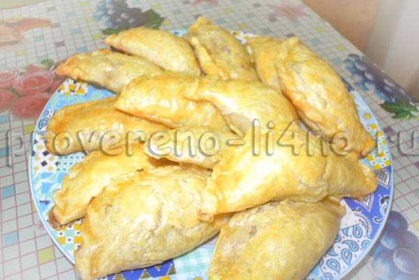 караимские пирожки с мясом рецепт с фото пошагово в духовке