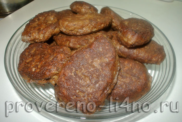 печень куриная котлеты рецепты